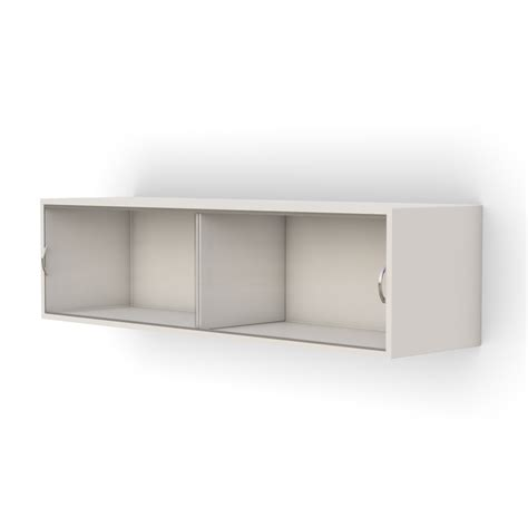 Wall Mounted Storage Cabinets With Glass Doors by Wall Mounted Storage Cabinet With Sliding Glass Door