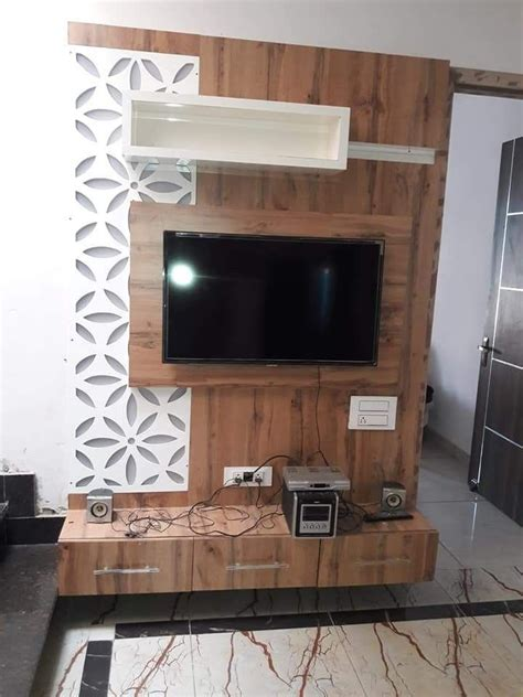 A wide variety of living room lcd furniture design options are available to you, such as general use, design style, and material. Beautiful LED panel #KARAN JANGID | Lcd panel design, Wall ...