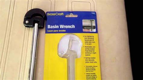 Complete Home Appliances With Basin Wrench