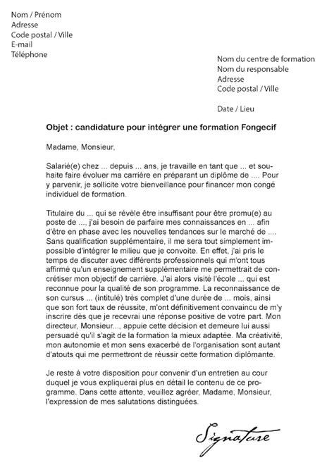 lettre de motivation cap cuisine greta lettre de motivation formation fongecif modèle de lettre