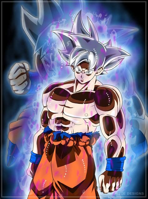 goku ultra instinct mastered  masterpiecedesigns