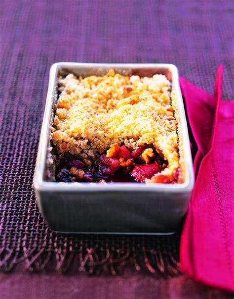 hervé cuisine crumble recette crumble pommes noix