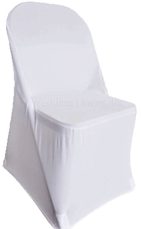 folding white spandex chair cover stretch folding chair