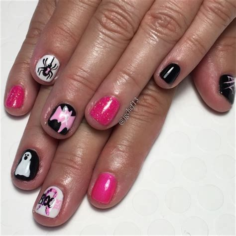 breast cancer nail designs breast cancer survivor nails nail gallery