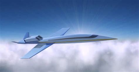 First Private Supersonic Jet Promised in 2018 — For $80M ...
