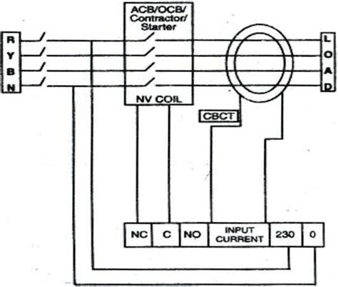wiring diagram of earth leakage relay current relay diagram 21 wiring diagram images wiring