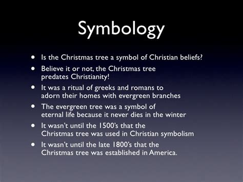 is a christmas tree a religious symbol tree