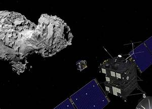 Space in Images - 2014 - 09 - Rosetta and Philae at comet