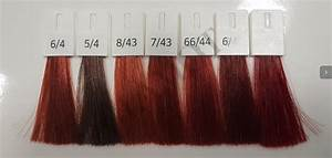 Wella Hair Color Chart Wella Professionals Color Touch Vibrant Reds Semi