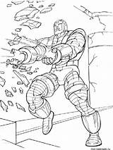 Coloring Pages Iron Gauntlets Template Cartoon Templates sketch template