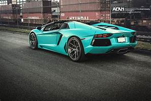 The only factory Lamborghini Aventador Roadster produced