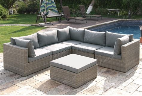Outdoor Patio Sofa Set by 409 Outdoor Patio 6pc Sectional Sofa Set By Poundex W Options
