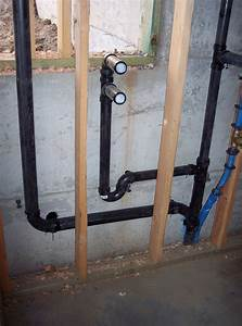 Building A Home  Plumbing Rough In  11  2010