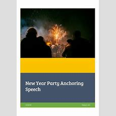 New Year 2017 Party Anchoring Speech Script Free Download