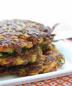 Sweet Potato and Zucchini Latkes