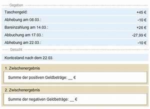 Rz Berechnen : textaufgaben mit rationalen zahlen l sen lernen ~ Themetempest.com Abrechnung