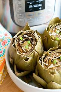 Foodi Cooking Chart Easy Instant Pot Artichokes Creamy Dill Sauce Video