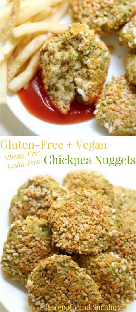 Glutenfree + Vegan Chickpea Nuggets (allergyfree, Grain