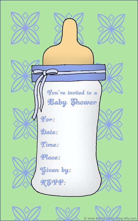 Free Printable Baby Shower Invitations For - free printable baby shower invitations in high quality