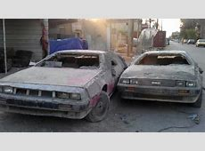 Wrecked DeLoreans Found In Baghdad