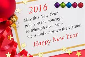 merry and happy new year 2016 quotes for saying greeting cards
