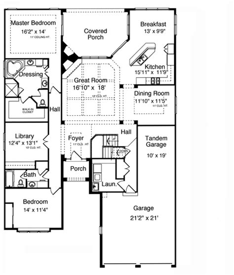 patio home plans from the pre stock plan collection