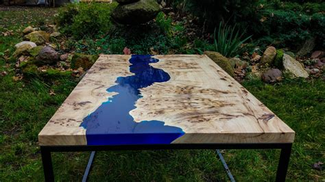 In this instructable, i'll show you how to build a live edge river coffee table, inspired by greg klassen's amazing work. SOLD Live edge river blue epoxy coffee table SOLD