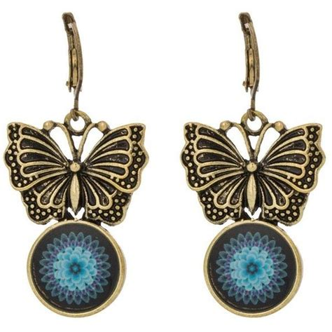 desigual earrings  brl   polyvore featuring