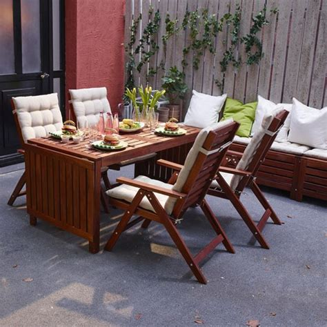 ikea outdoor tables 30 outdoor ikea furniture ideas that inspire digsdigs