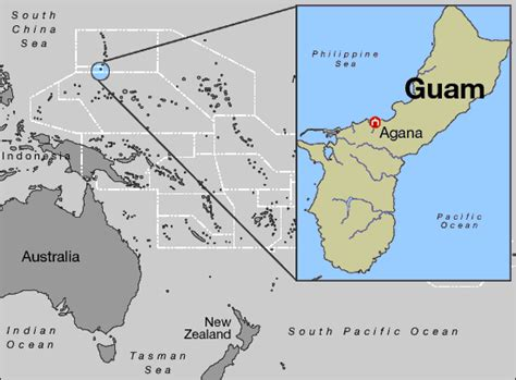 Island On World Map Guam | Quotes of the Day