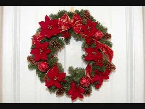 christmas items you tube wreaths how to make a wreath