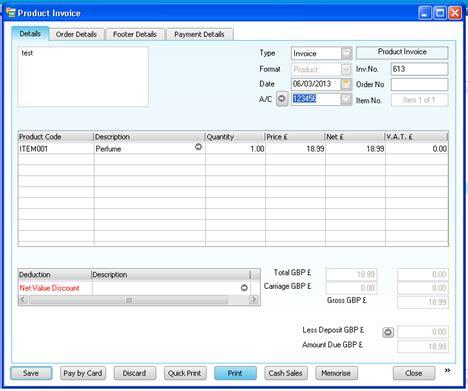 uploading  invoice templates sage pay