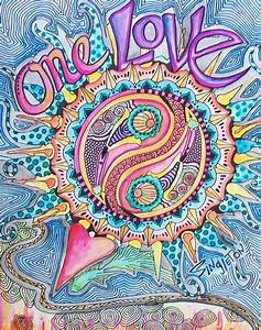 Art Quotes Peace And Love. QuotesGram