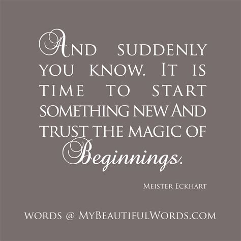 start of something new quotes quotesgram