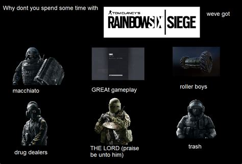 Siege Memes - rainbow six siege memes trigger pictures to pin on pinterest thepinsta