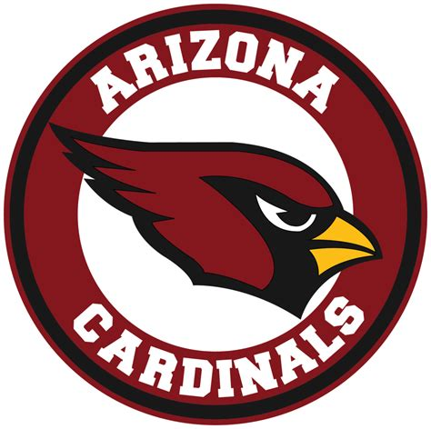 Arizona Cardinals Circle Logo Vinyl Decal / Sticker 5 ...