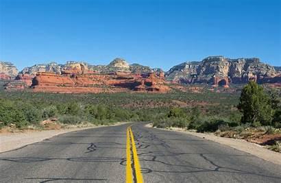 Flagstaff Arizona Sedona Road Camping Bandiera Albero