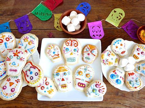 atelier mexicain cookies calaveras pour le dia de los muertos so many