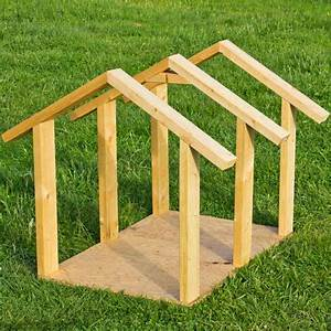 how to build a cheap wooden dog house paw castle With how to build a dog house cheap