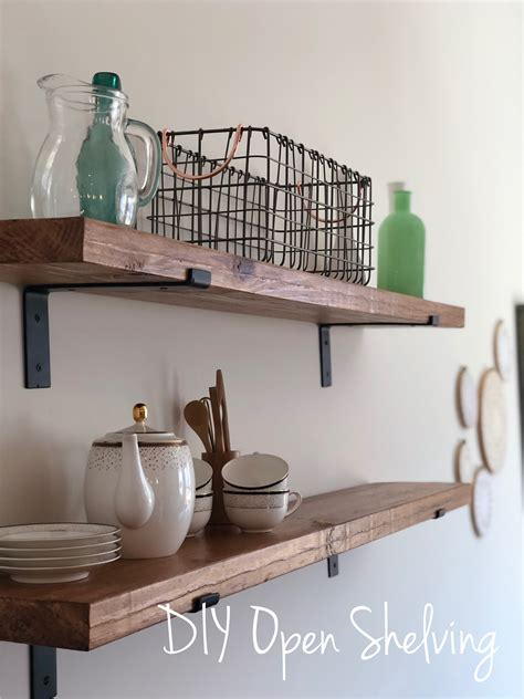 Closetmaid Wood Shelving by Diy Open Shelving Provident Home Design