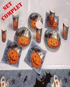Vaisselle Halloween Jetable Articles De Fte