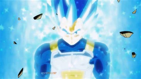 vegeta logra el super saiyajin blue evolution dragon