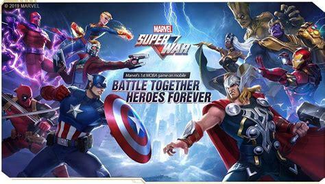 primer trailer de marvel super war  moba gratuito