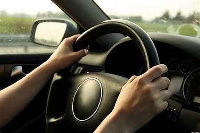 Road Driving Woman