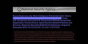Top Secret Nsa Report Details Russian Hacking Effort Days ...