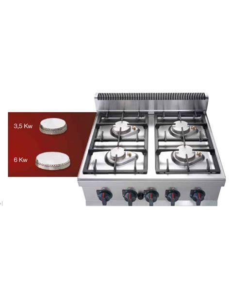 Cucina A Gas Da Appoggio 2 Fuochi Media Potenza