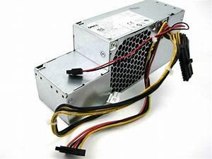 Dell Optiplex Watt Power Supply R224m 0r224m Fr610 H255t
