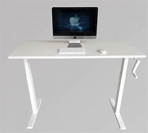 Manual Crank Height Adjustable Table Sit