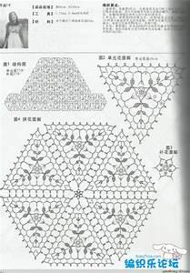 Crochet Shawl   Diagrams