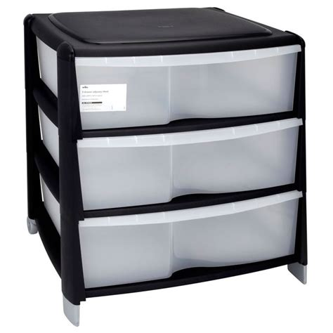 Plastic Drawers For Clothes by Wilko Storage Odyssey Chest 3 Drawer Useful
